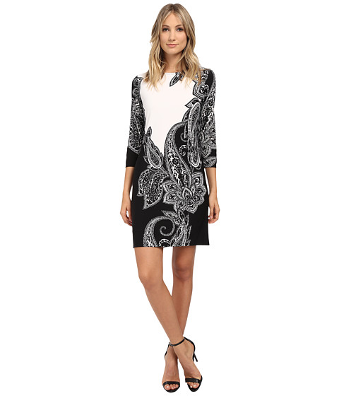rsvp - Sonja Dress (Black/White) Women