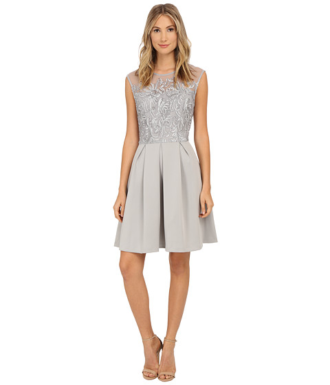 rsvp - Nantes Dress (Silver/Grey) Women's Dress