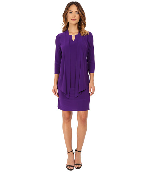 rsvp - Luann Dress (Purple) Women's Dress