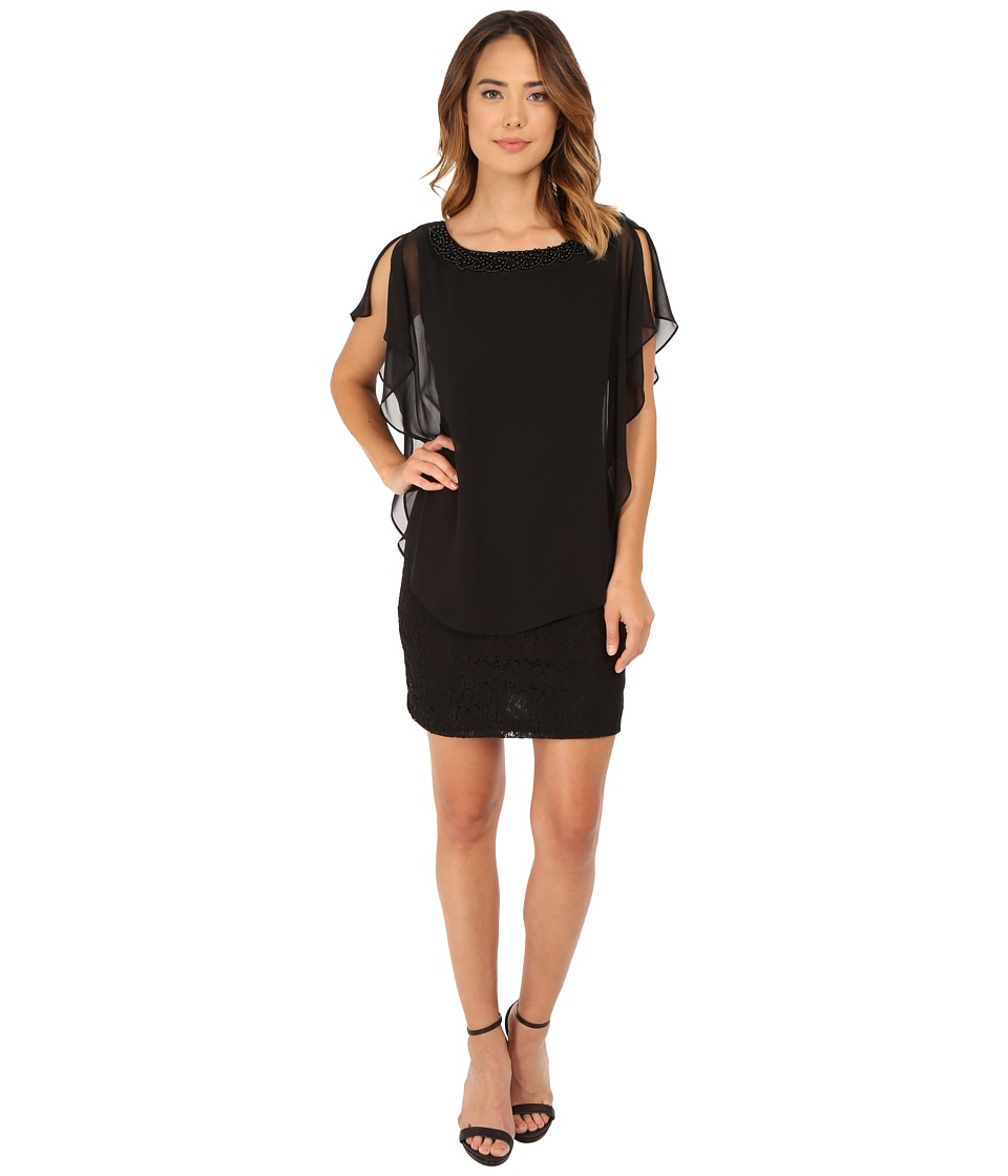 rsvp - Marseille Dress (Black) Women's Dress