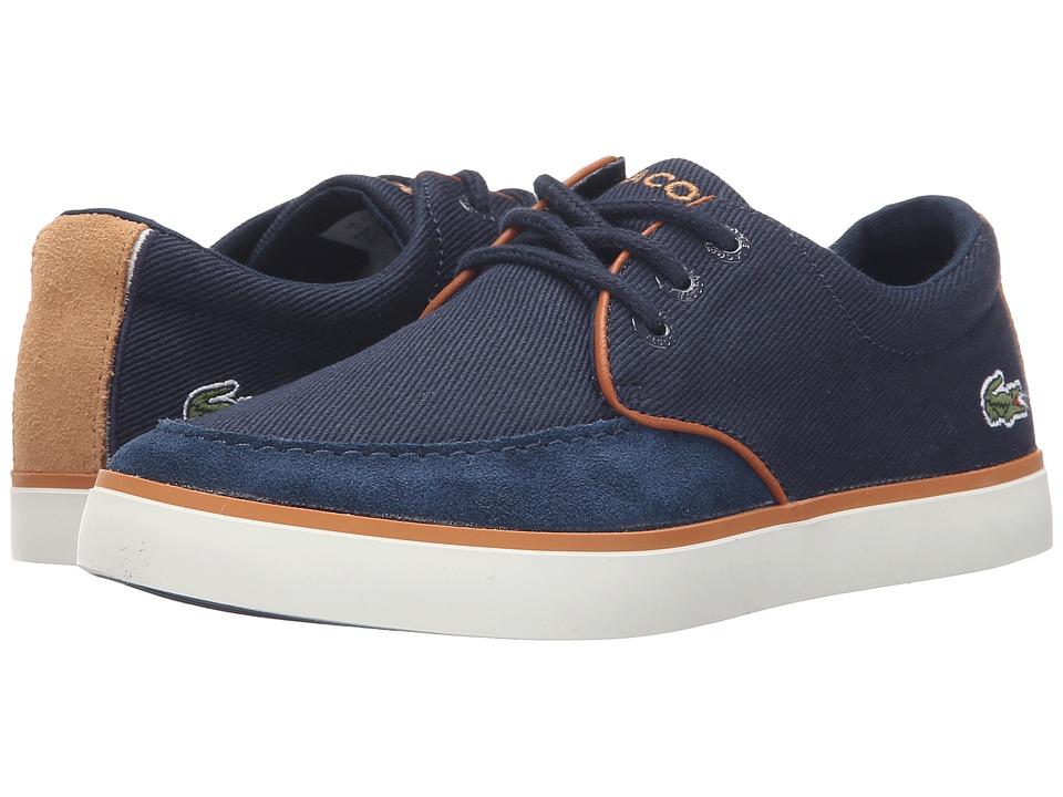 Lacoste Kids - Sevrin 116 1 SP16 (Little Kid) (Navy) Boy's Shoes