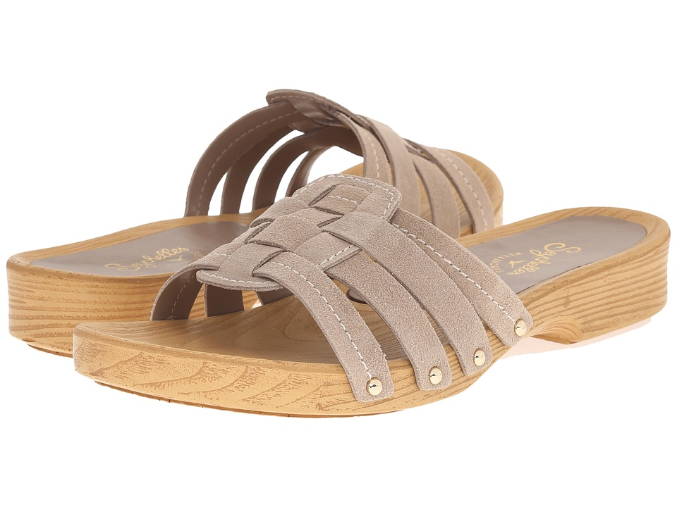Seychelles - Whiz (Taupe Suede) Women's Sandals