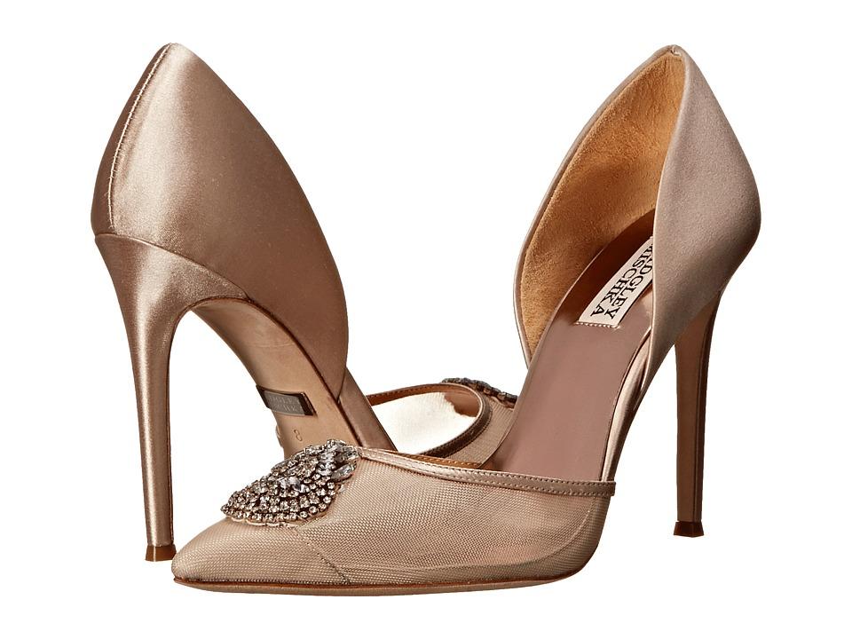 Badgley Mischka - Rylee (Nude Satin) High Heels