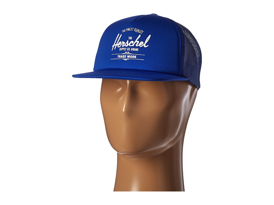 Herschel Supply Co. - Whaler Mesh (Cobalt) Caps