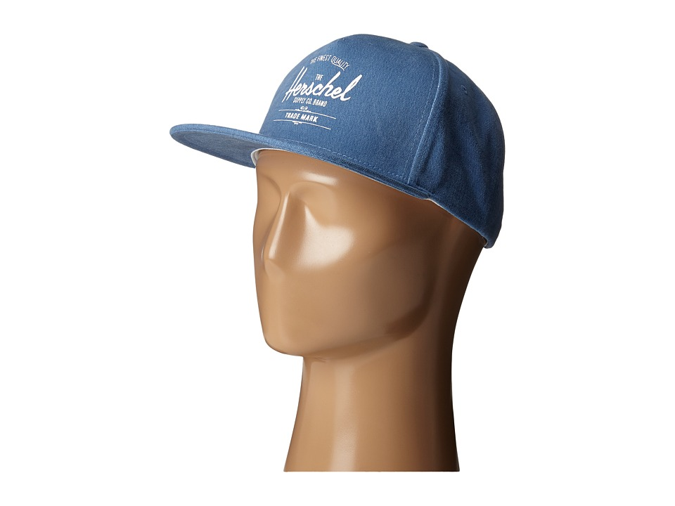 Herschel Supply Co. - Whaler (Light Wash Denim) Caps