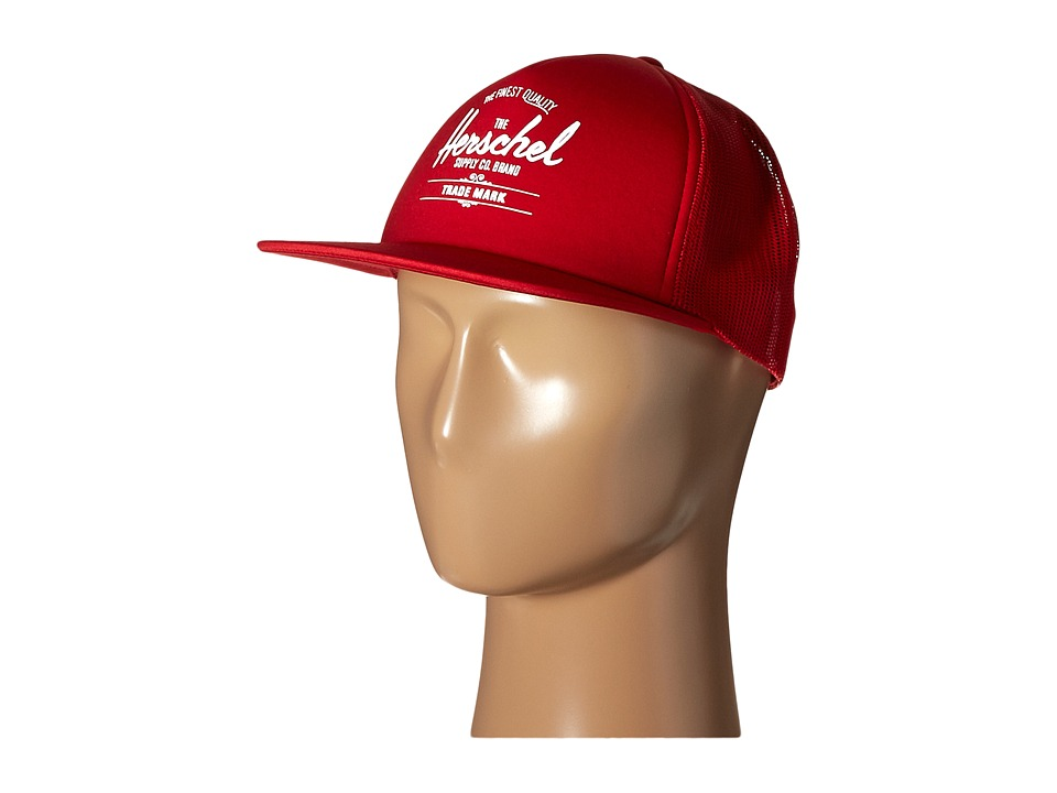 Herschel Supply Co. - Whaler Mesh (Red) Caps