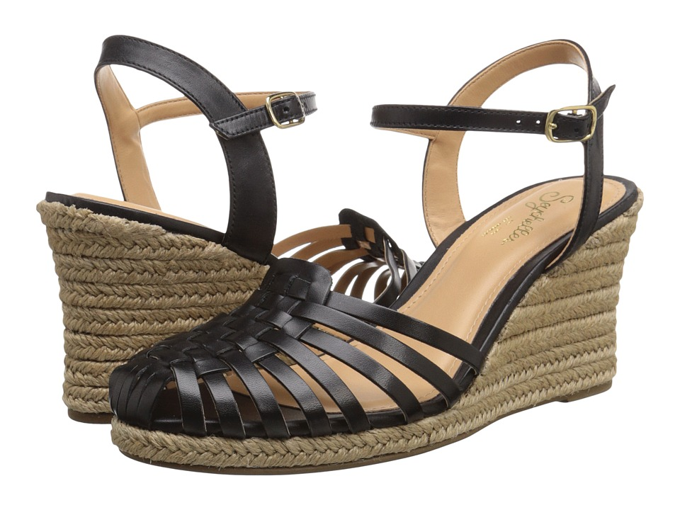 Seychelles Aspiration (Black Leather) Women