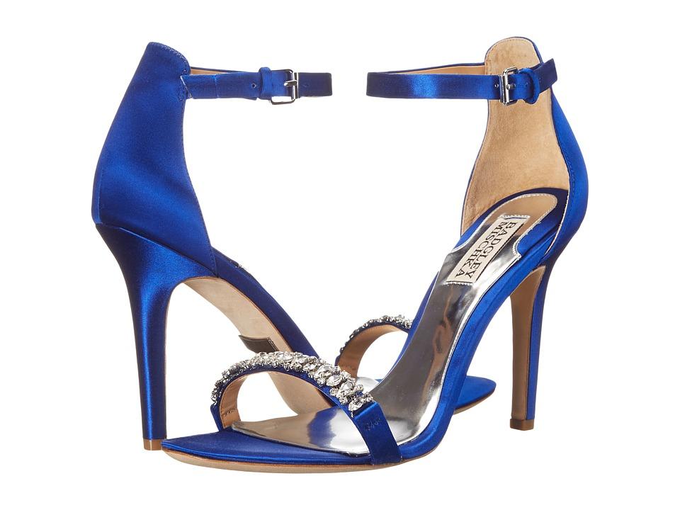 Badgley Mischka - Elope (Iris Blue Satin) High Heels