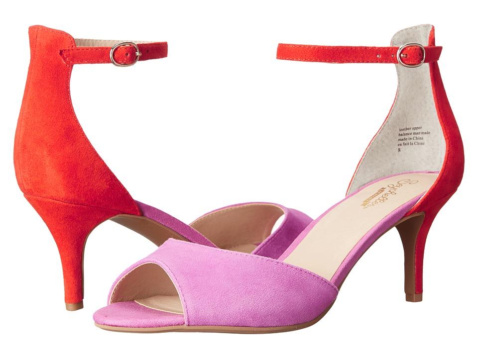 Seychelles Hazel (Fuchsia/Red Suede) High Heels