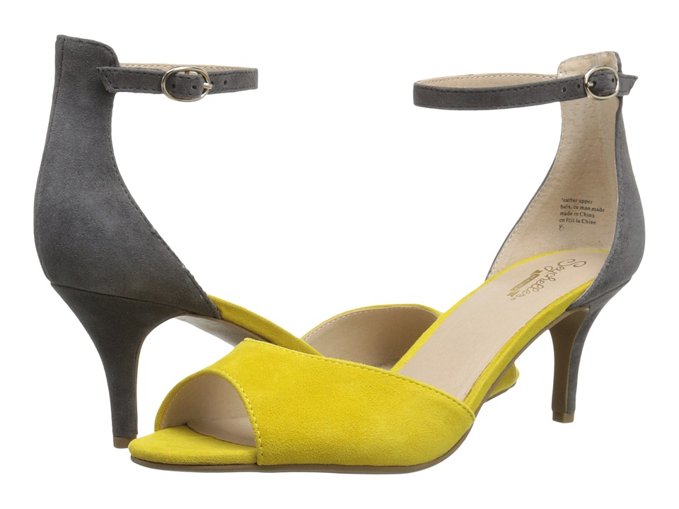 Seychelles - Hazel (Yellow/Grey Suede) High Heels