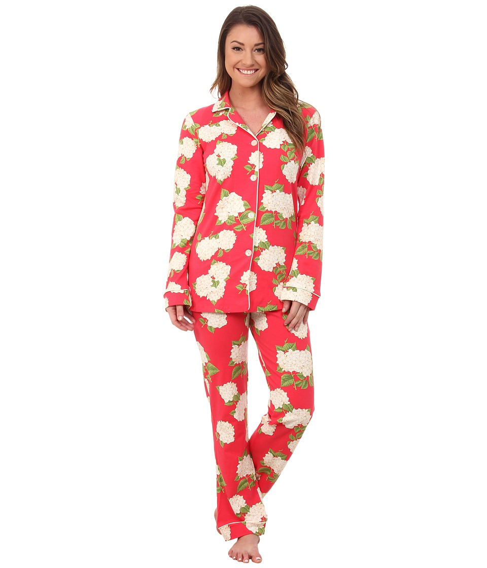 BedHead - Classic Stretch PJ Set (Rouge Hydrangea) Women's Pajama Sets