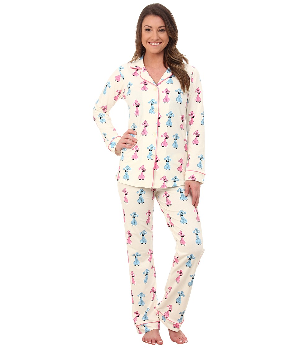 BedHead - Classic Stretch PJ Set (Poodles) Women's Pajama Sets