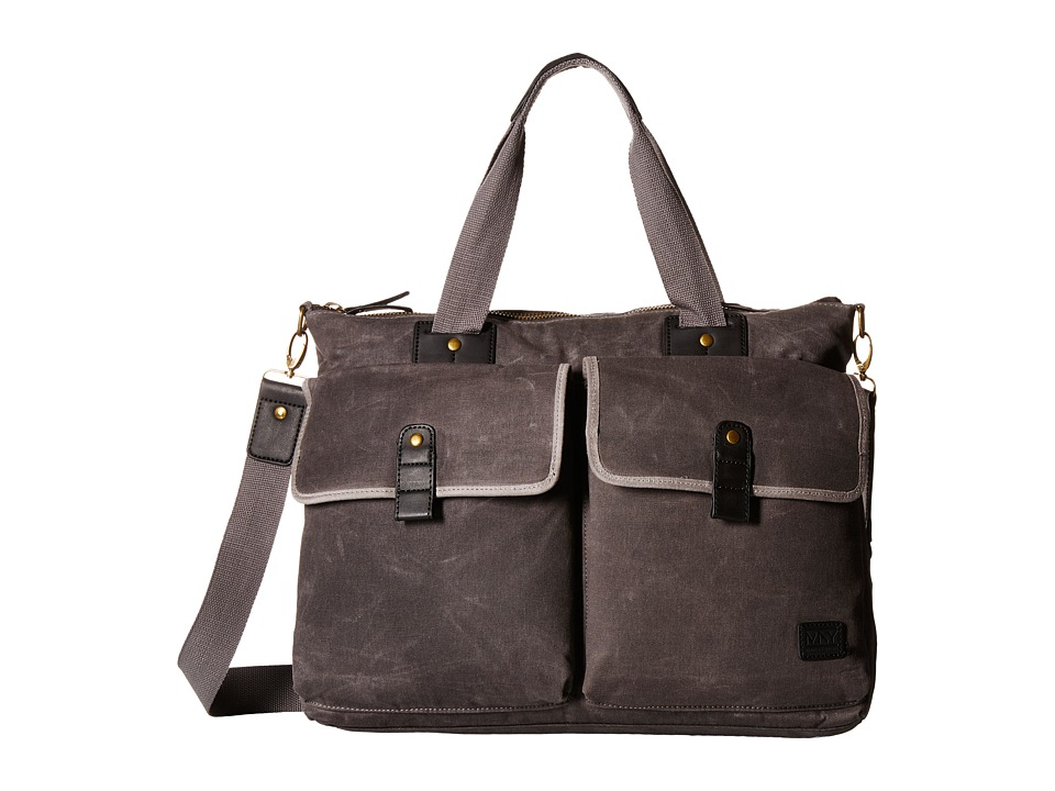 Marc New York by Andrew Marc - Fairfield Satchel (Charcoal) Messenger Bags