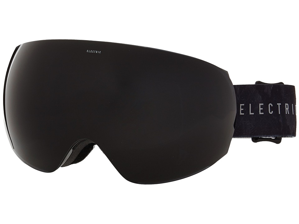 Electric Eyewear - EG3 Volcom Co-Lab +Bonus Lens (Jet Black) Snow Goggles