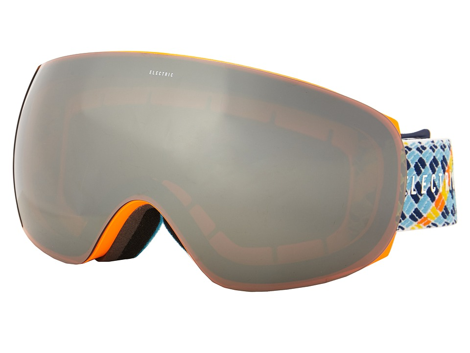 Electric Eyewear - EG3.5 Navy/Blue Rope +Bonus Lens (Bronze/Silver Chrome) Snow Goggles