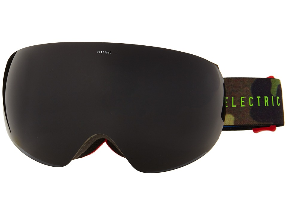 Electric Eyewear - EG3 G.I. Joe Camo +Bonus Lens (Jet Black) Snow Goggles