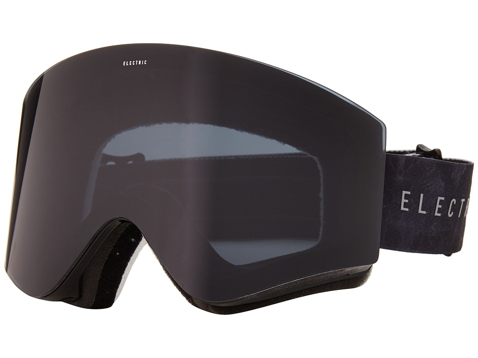 Electric Eyewear - EGX Volcom Co-Lab +Bonus Lens (Jet Black) Snow Goggles