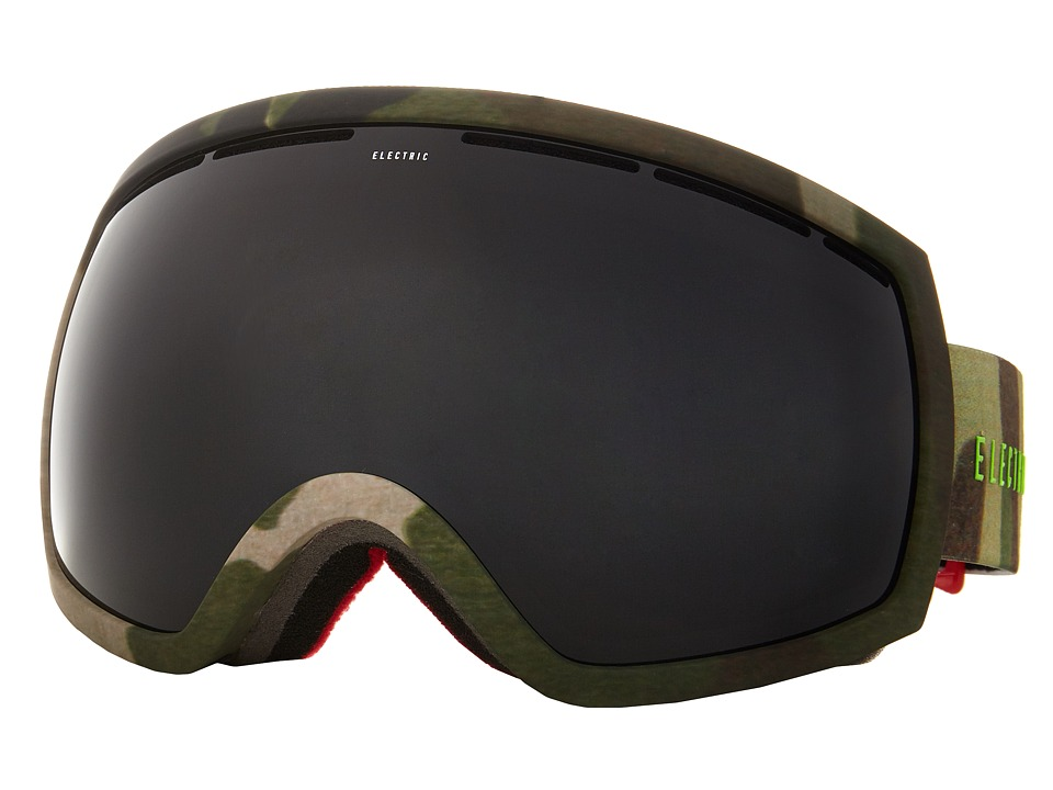 Electric Eyewear - EG2 G.I. Joe Camo +Bonus Lens (Jet Black) Snow Goggles