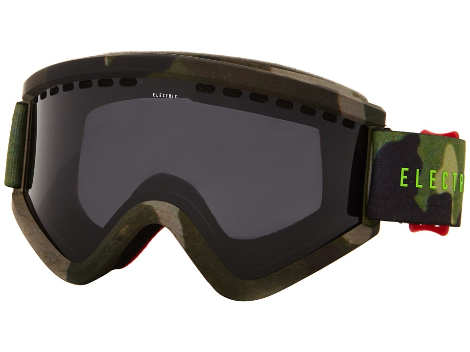 Electric Eyewear - EGV G.I. Joe Camo +Bonus Lens (Jet Black) Snow Goggles