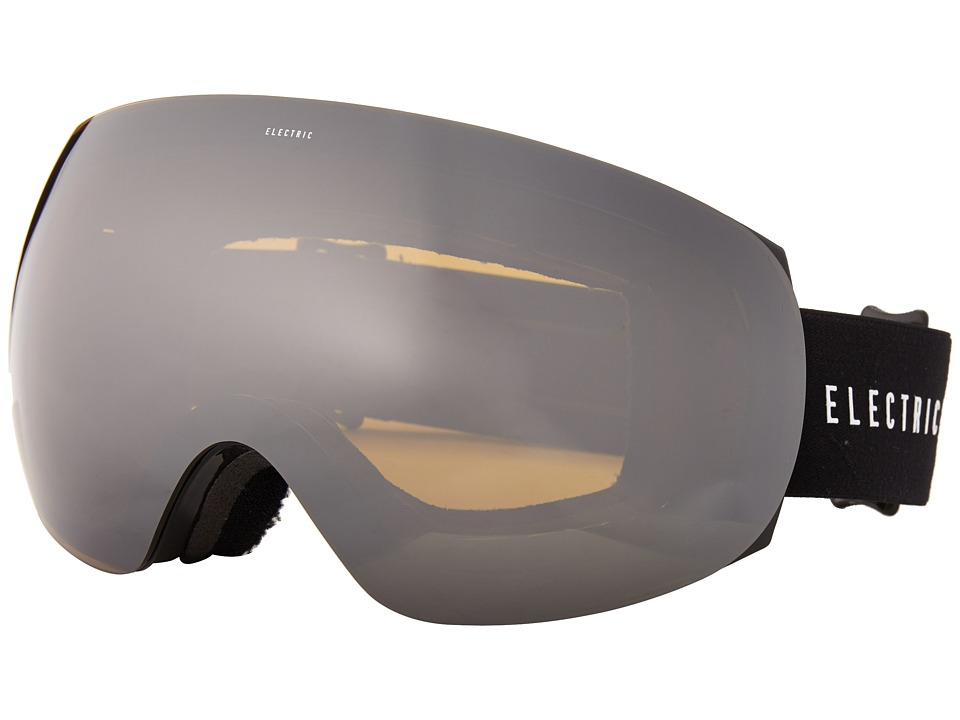 Electric Eyewear - EG3 Gloss Black +Bonus Lens (Bronze/Silver Chrome) Snow Goggles