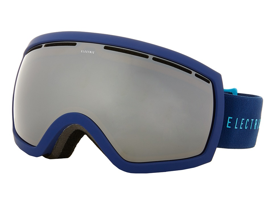 Electric Eyewear - EG2.5 Navy/Cyan +Bonus Lens (Bronze/Silver Chrome) Snow Goggles