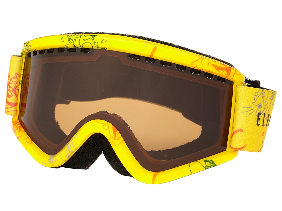 Electric Eyewear - EGV.K Cartoon Yellow (Bronze) Snow Goggles