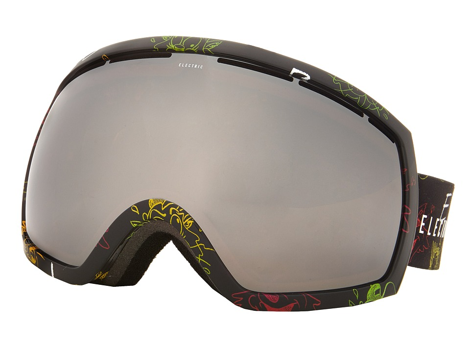 Electric Eyewear - EG2 Cartoon Rasta +Bonus Lens (Bronze/Silver Chrome) Snow Goggles