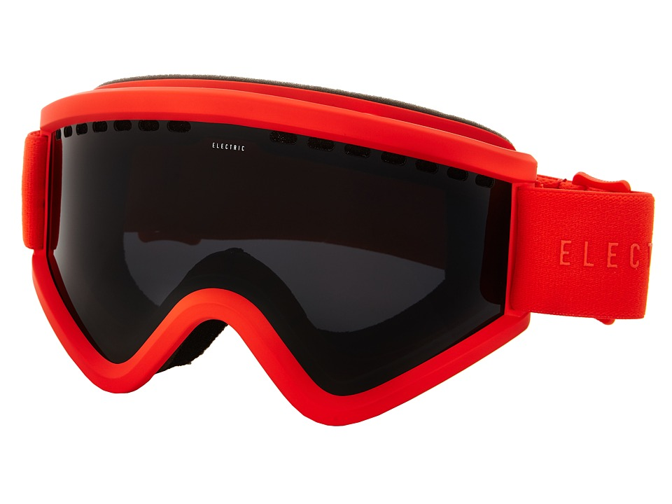 Electric Eyewear - EGV Solid Orange +Bonus Lens (Jet Black) Snow Goggles