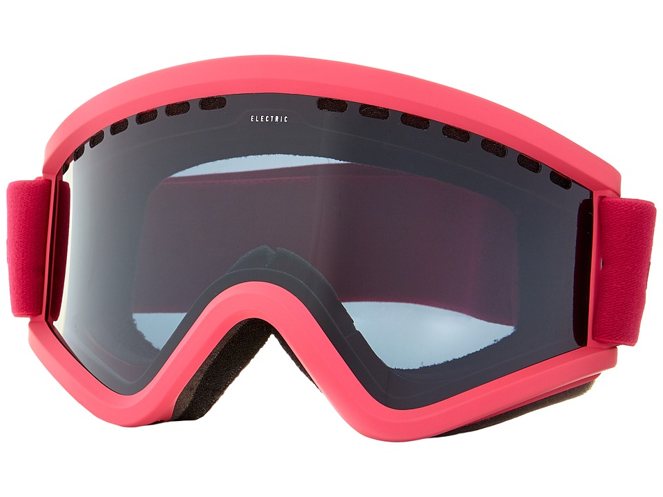 Electric Eyewear - EGV Solid Berry +Bonus Lens (Jet Black) Snow Goggles