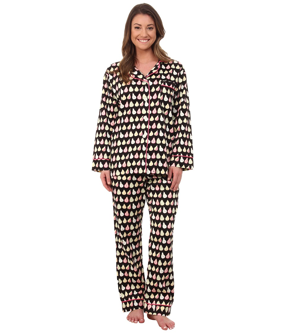 BedHead - Long Sleeve Classic PJ Set (Dancing Pears) Women's Pajama Sets