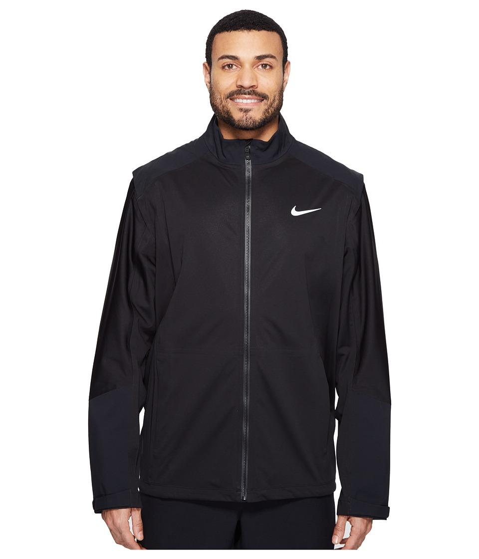Nike Golf - Hyperadapt Storm-Fit Jacket (Black/Black/Wolf Grey/Reflective Black) Men's Coat