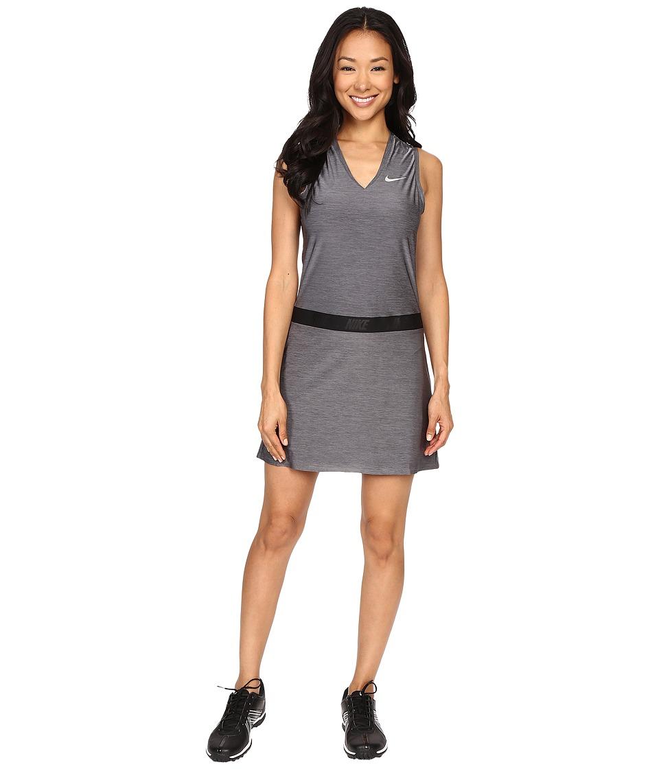 Nike Golf Ace Sleeveless Dress (Dark Grey/Reflective Silver) Women