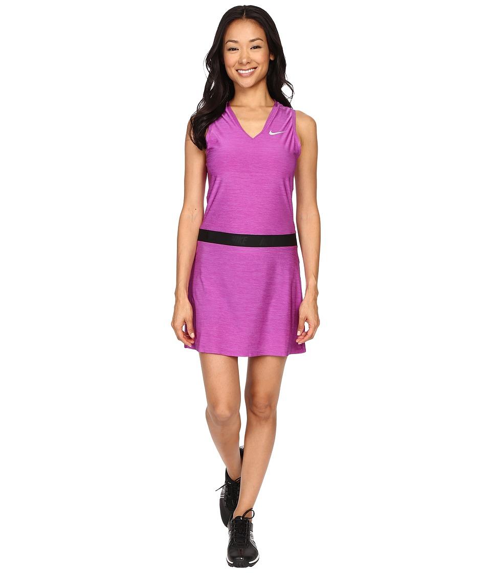 Nike Golf Ace Sleeveless Dress (Cosmic Purple/Reflective Silver) Women