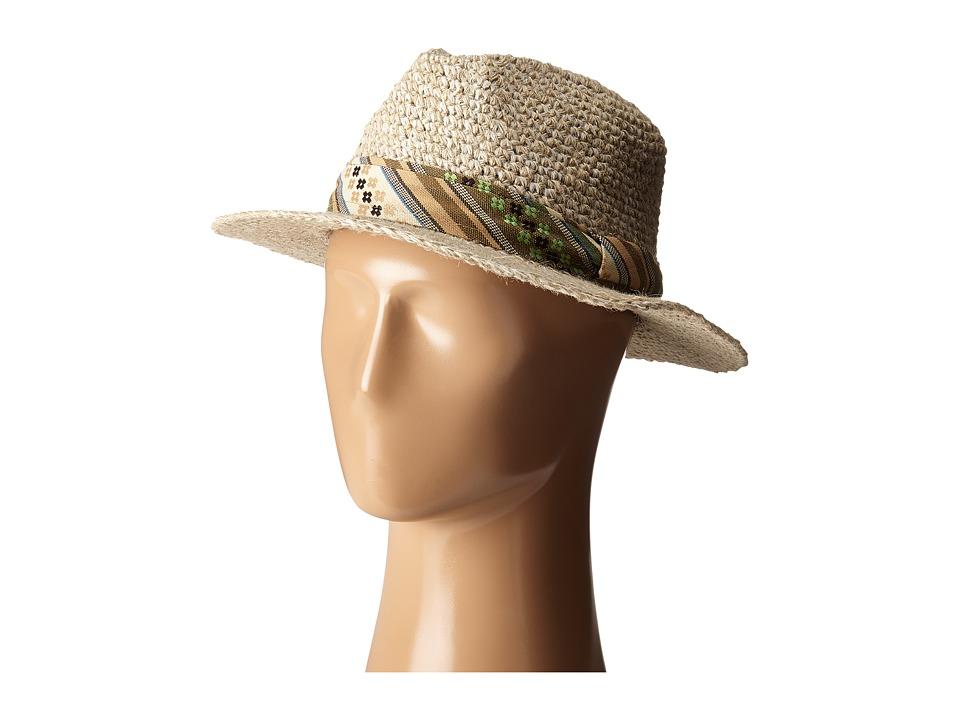 Pistil - Cassidy Fedora (Natural 1) Fedora Hats