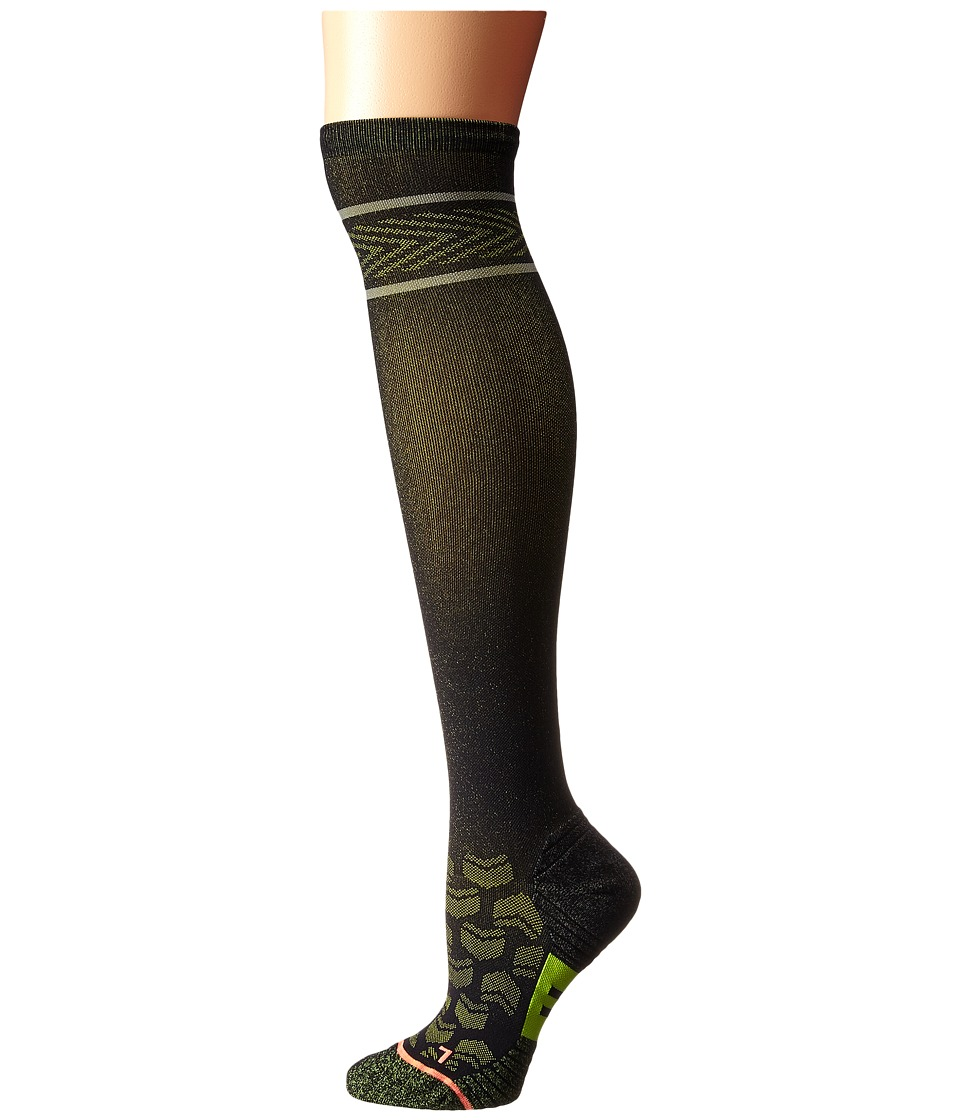 Stance - Inspire (Black) Women's Knee High Socks Shoes