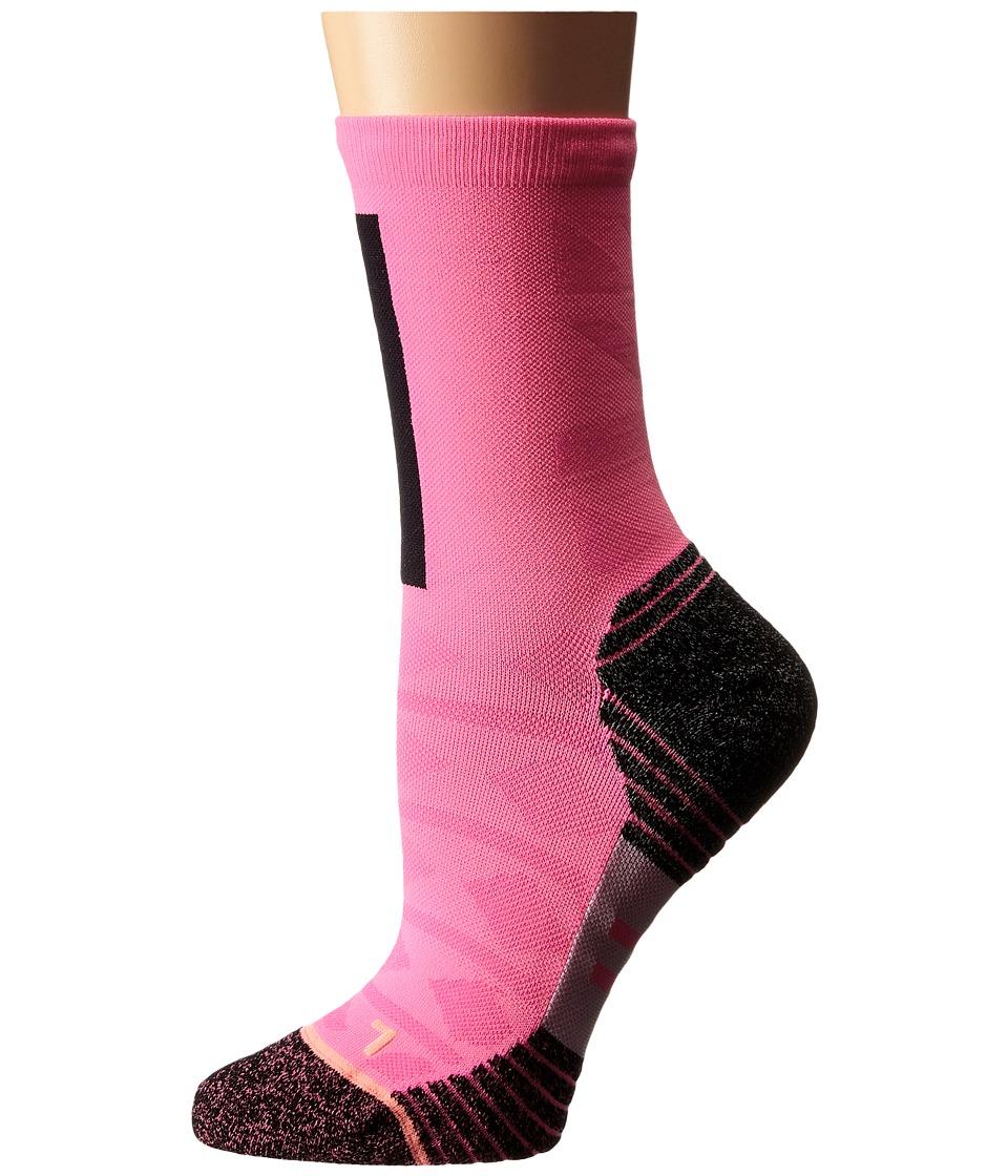 Stance - Revolt (Pink) Women's Crew Cut Socks Shoes