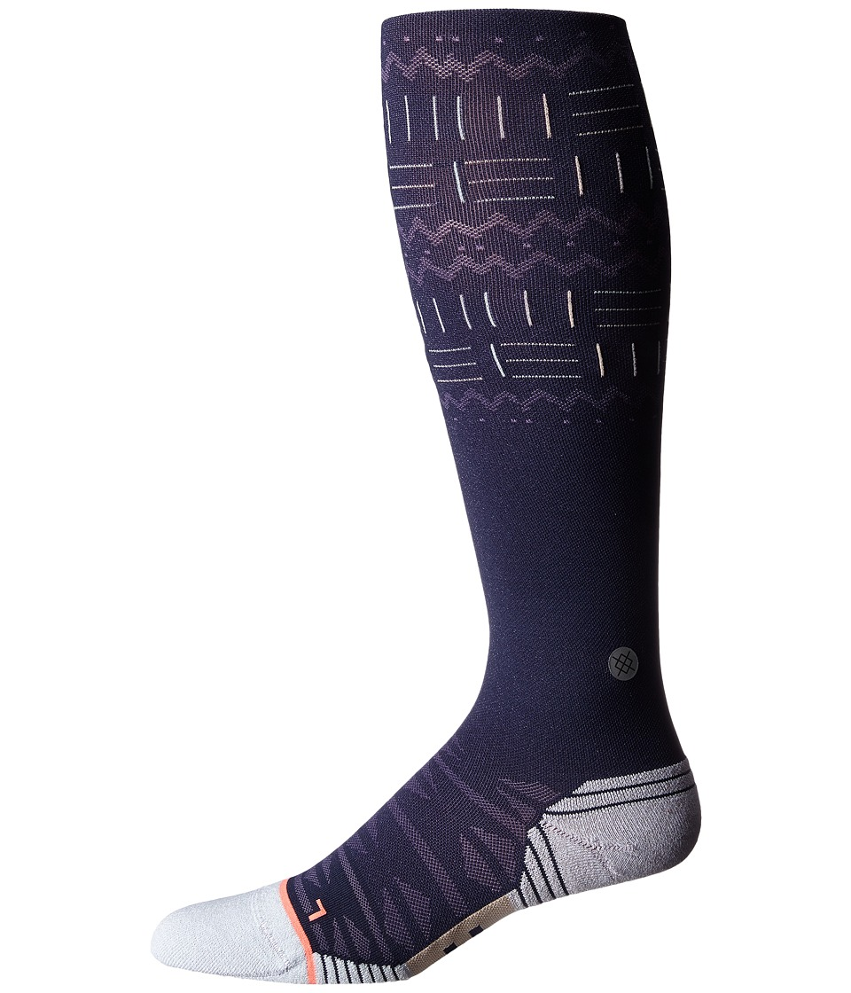 Stance - Delta (Blue) Women's Knee High Socks Shoes
