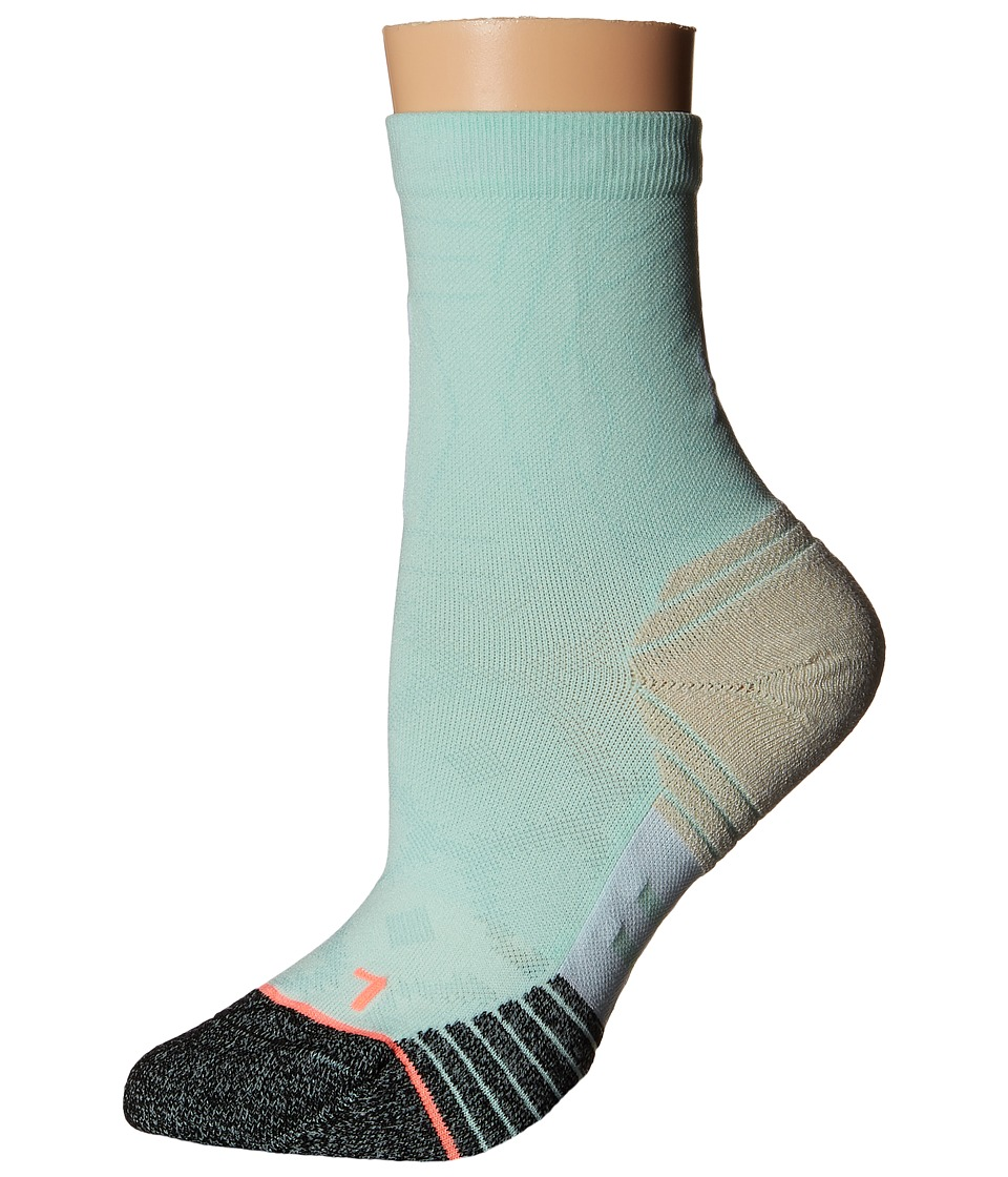 Stance - Race Day (Mint) Women's Crew Cut Socks Shoes