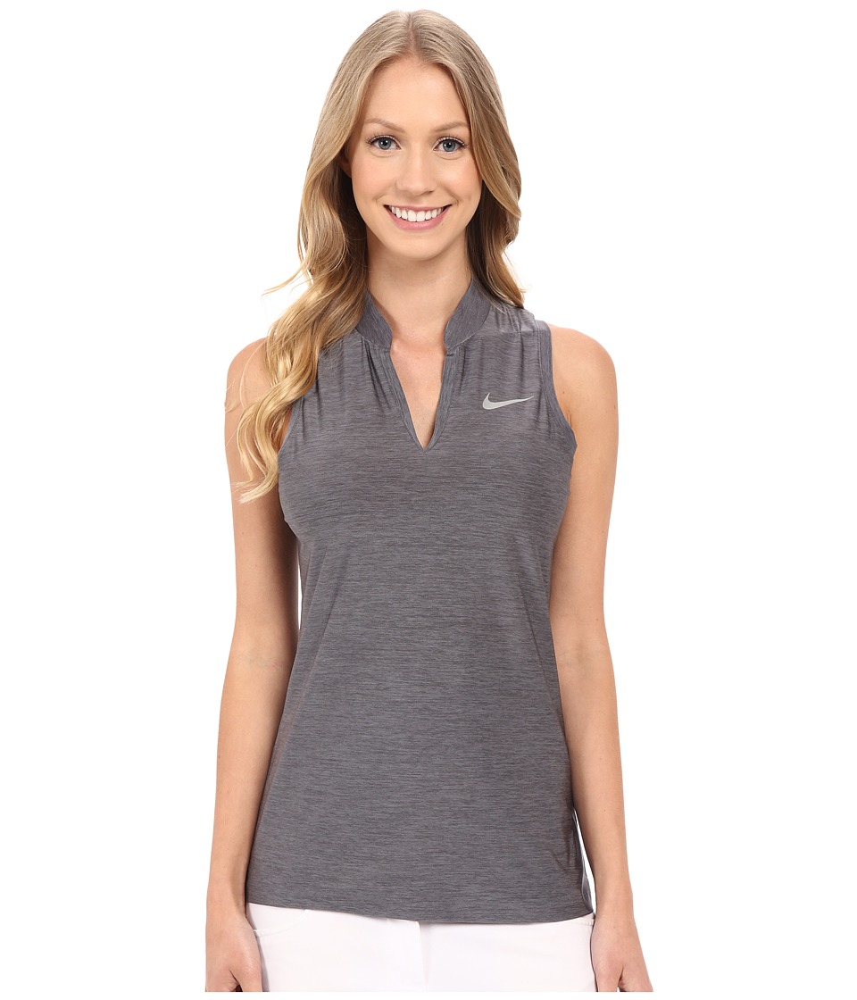 Nike Golf - Ace Slinky Racerback (Dark Grey/Reflective Silver) Women's Sleeveless