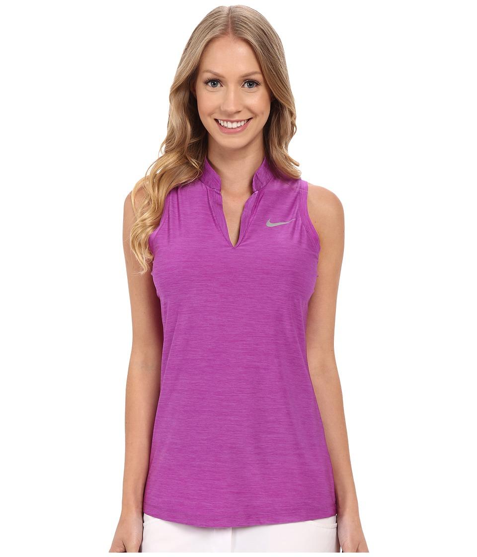 Nike Golf - Ace Slinky Racerback (Cosmic Purple/Reflective Silver) Women's Sleeveless
