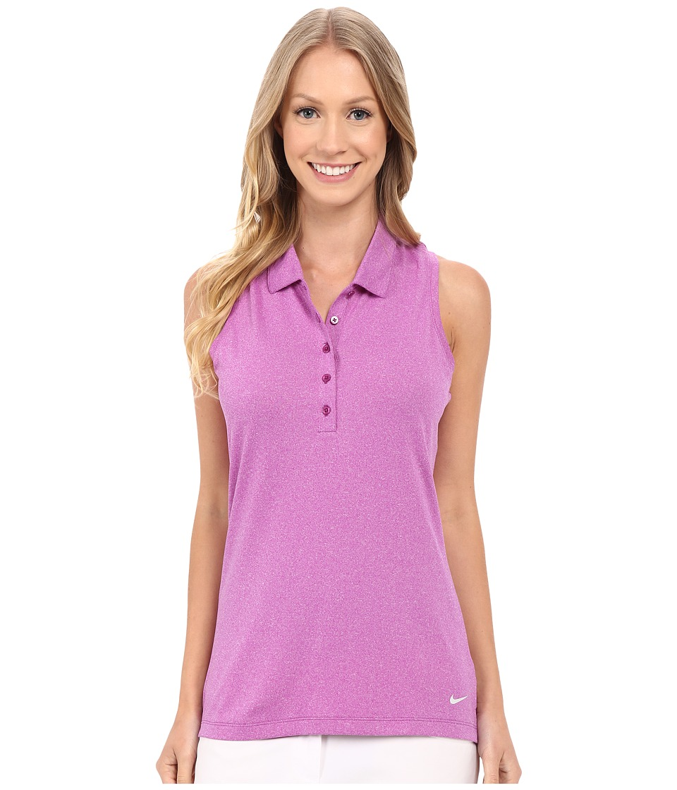 Nike Golf - Precision Racerback (Cosmic Purple/Metallic Silver) Women's Sleeveless