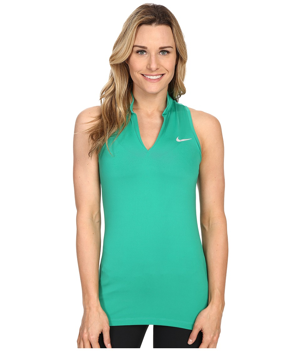 Nike Golf - Ace Melt Away Racerback (Lucid Green/Reflective Silver) Women's Sleeveless