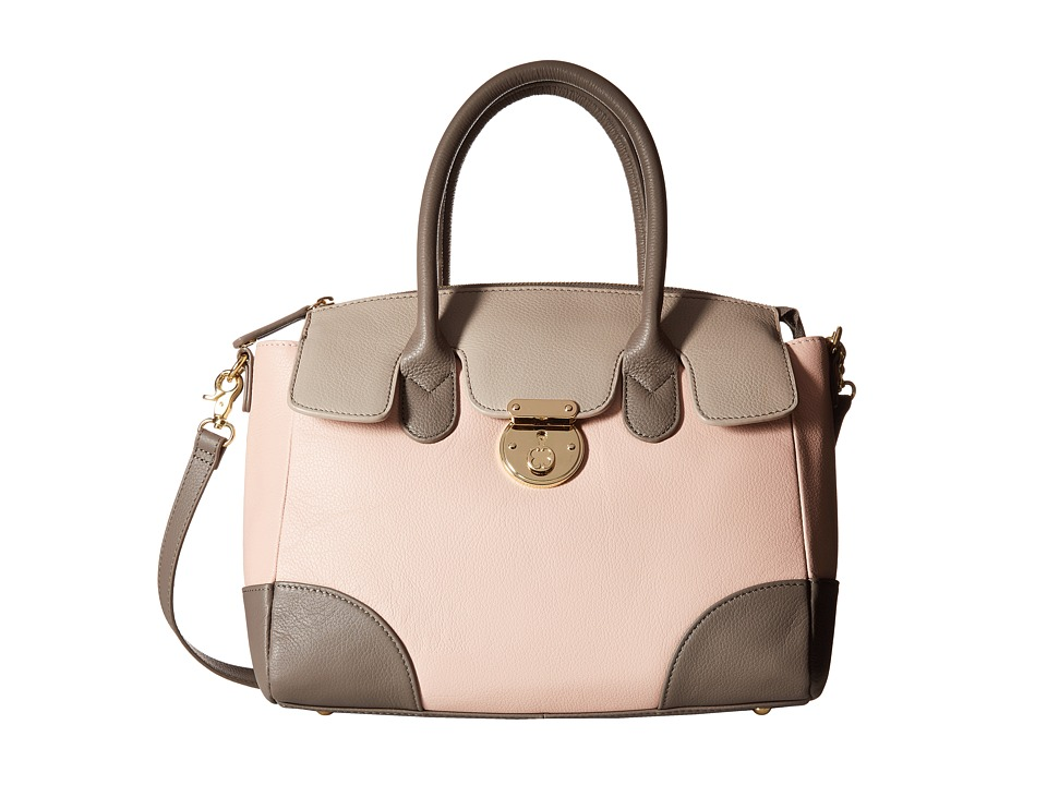 Emma Fox - Rochemont Medium Satchel (Blush Multi) Satchel Handbags