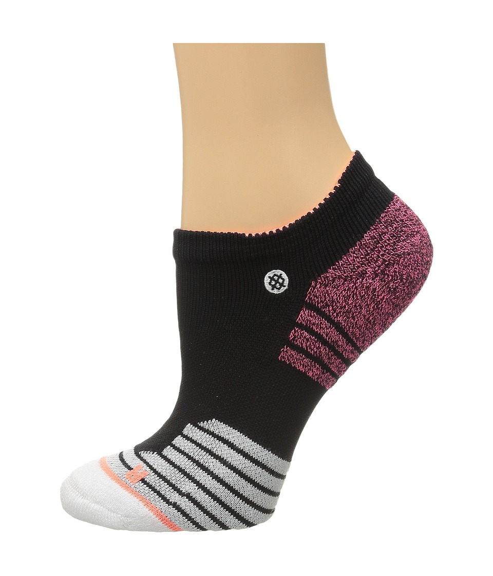 Stance - Fitness Low (Black) Women's Low Cut Socks Shoes