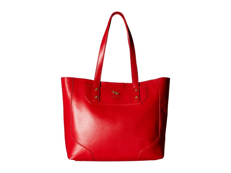Emma Fox - Gidran Large Tote (Red) Tote Handbags