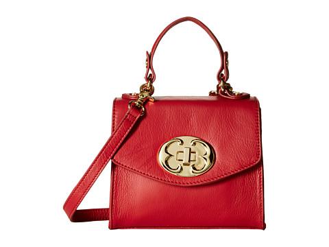 Emma Fox - Sella Small Flap Crossbody (Red) Cross Body Handbags
