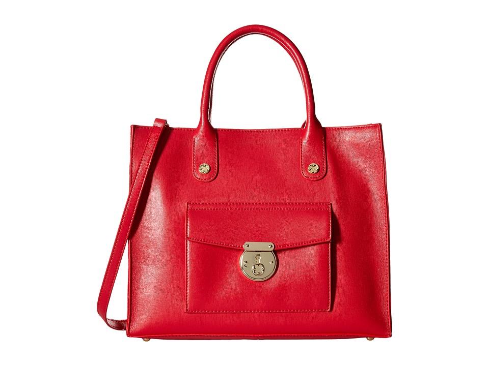 Emma Fox - Delmar Tote (Red) Tote Handbags