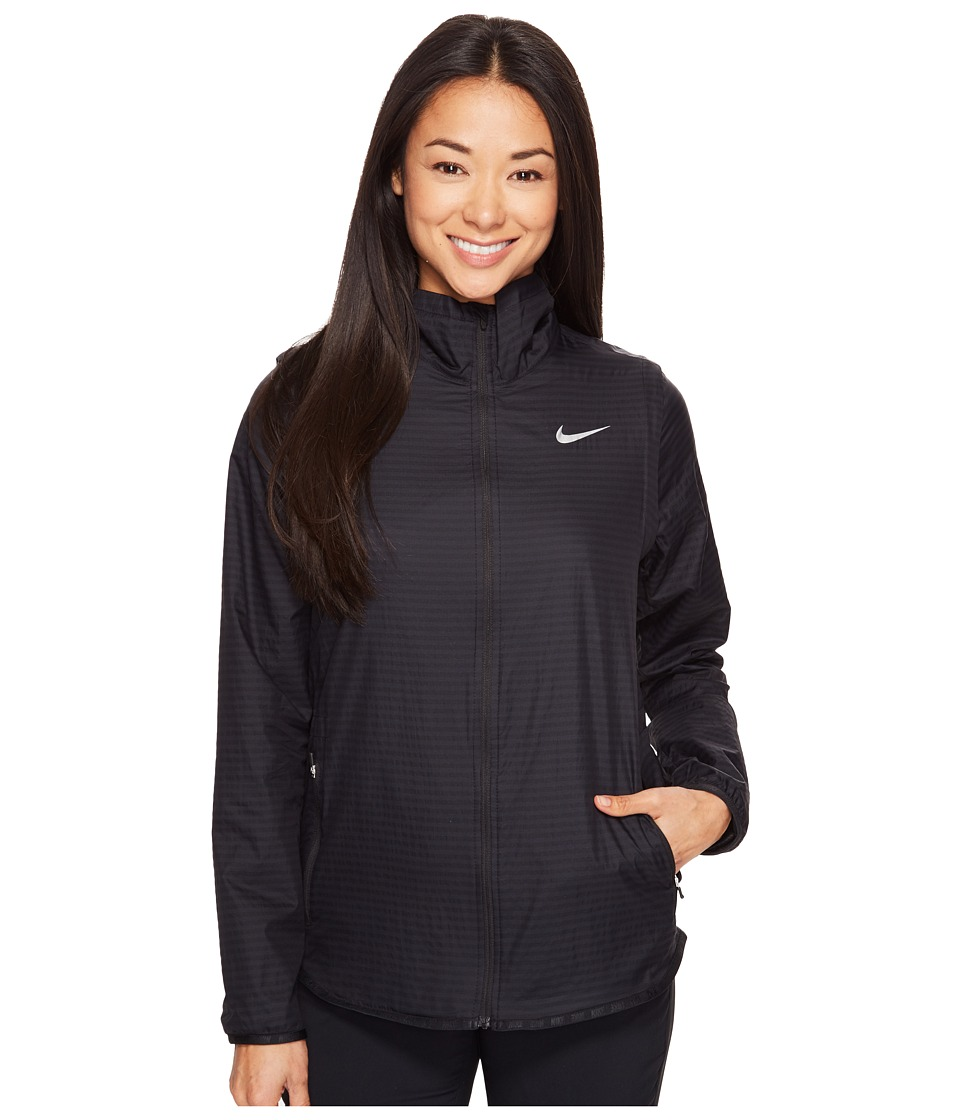 Nike Golf - Majors Convertible Jacket (Black/Metallic Silver) Women's Coat