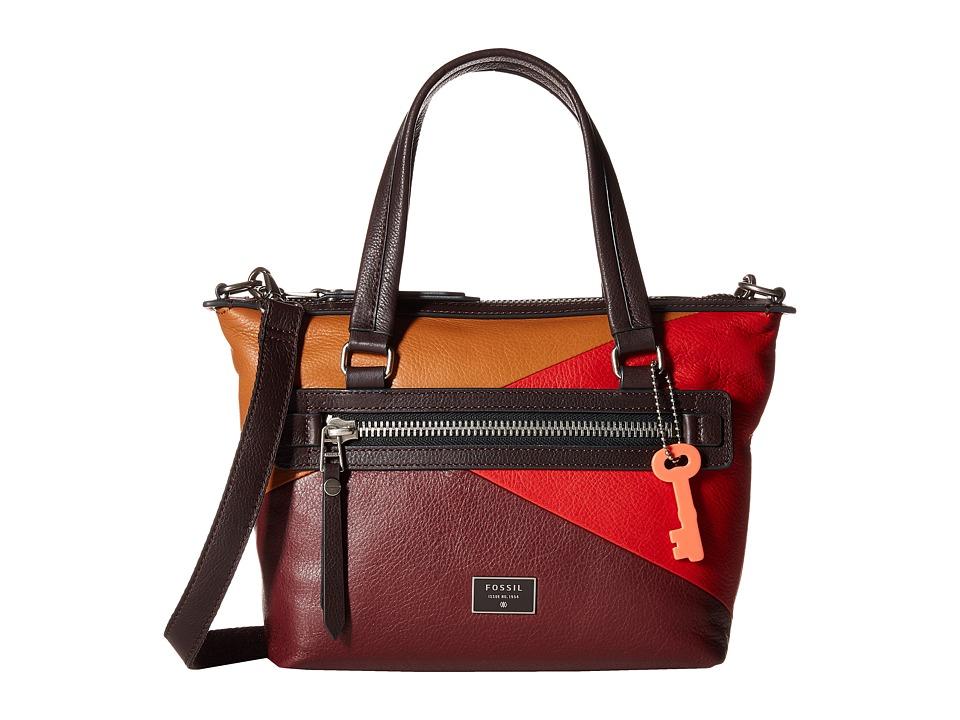 Fossil - Dawson Satchel (Light Tan) Satchel Handbags