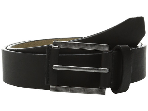 Steve Madden - 35mm Classic Belt (Black) Men